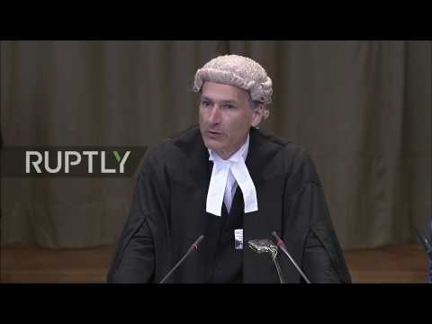 LIVE: Russia's second round of oral observations at UN ICJ