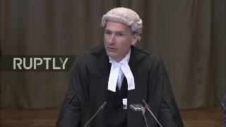 LIVE  Russia's second round of oral observations at UN ICJ