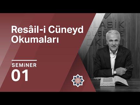 Ekrem Demirli, Cüneyd-i Bağdâdî, Resâil-i Cüneyd, 1.Seminer