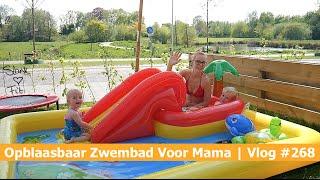 OPBLAASBAAR ZWEMBAD VOOR MAMA | Bellinga Vlog #268