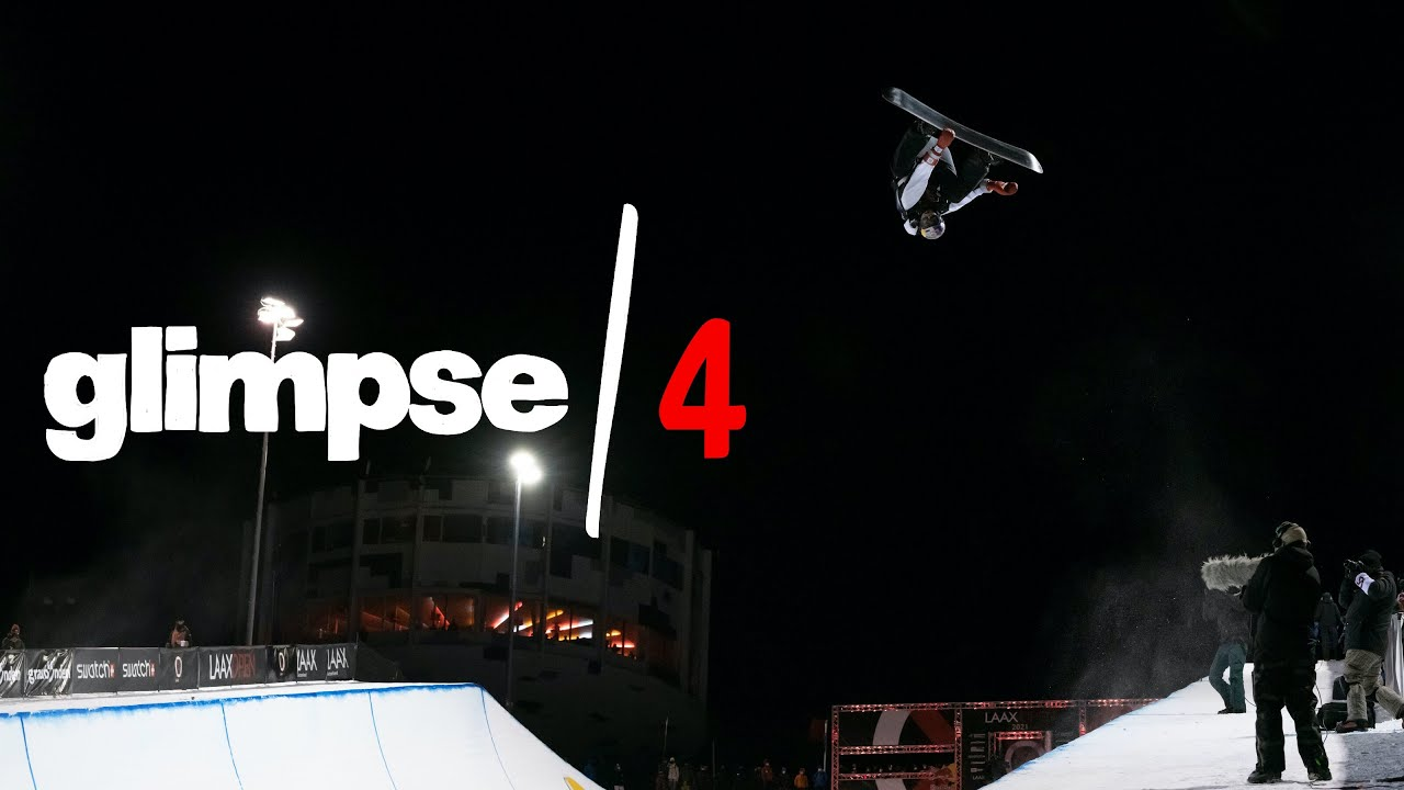 Scotty James Opens The Halfpipe Season In Laax | Glimpse/Ep4