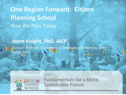 How we plan today. [SESSION 1: Fundamentals for a More Sustainable Future]