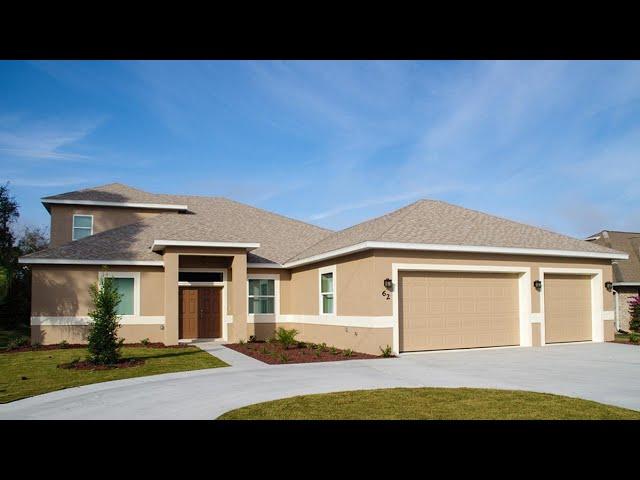 AMANDA w/bonus room. Certified Green hurricane resistant home built by Florida Green Construction