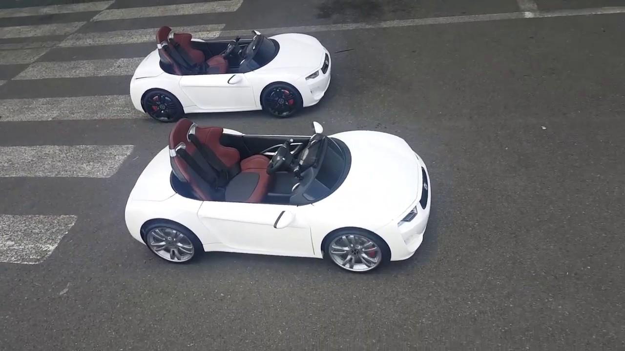 Детский электромобиль VIP Toys Henes Broon F850