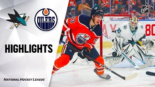 nhl-highlights-sharks-oilers-2-6-20