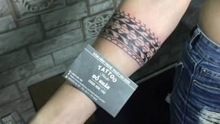 Hình Xăm Vòng Tay Thực Hiện Tại Đỗ Nhân Tattoo