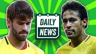 TRANSFER NEWS: Neymar and Alisson to Real Madrid + injury for Dani Alves ► Daily Football News
