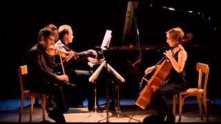 Robert Schumann, Trio avec piano no. 2, opus 80. - 3. In mässiger bewegung.