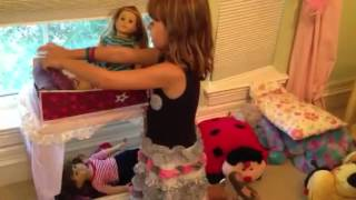Make An American Girl Doll Bunkbed
