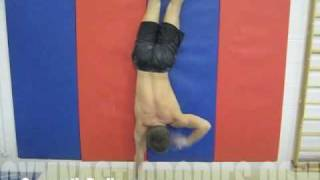 Learn How to Do a Handstand - Handstand Wall Runs