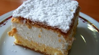 How To Make Almond Squares Old Vintage Recipe Quick Dessert