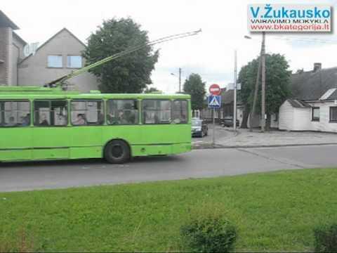 """Kauno """"Regitros"""" egzaminų maršrutai"""