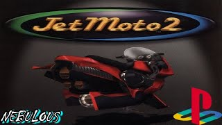 Jet Moto 2 PlayStation Gameplay - Nebulous
