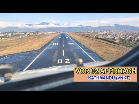 #VOR 02 approach...Kathmandu!
