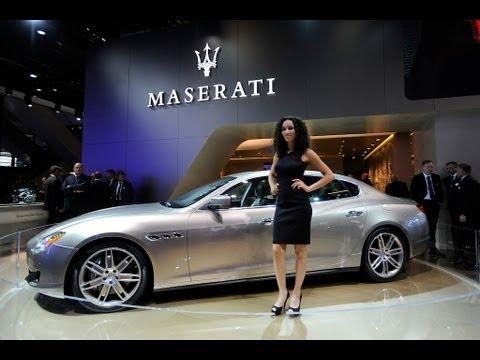 Maserati at Frankfurt Motor Show. IAA 2013