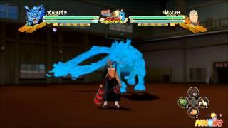 Naruto Shippuden Ultimate Ninja Storm 3: Yugito Complete Moveset (1080p)