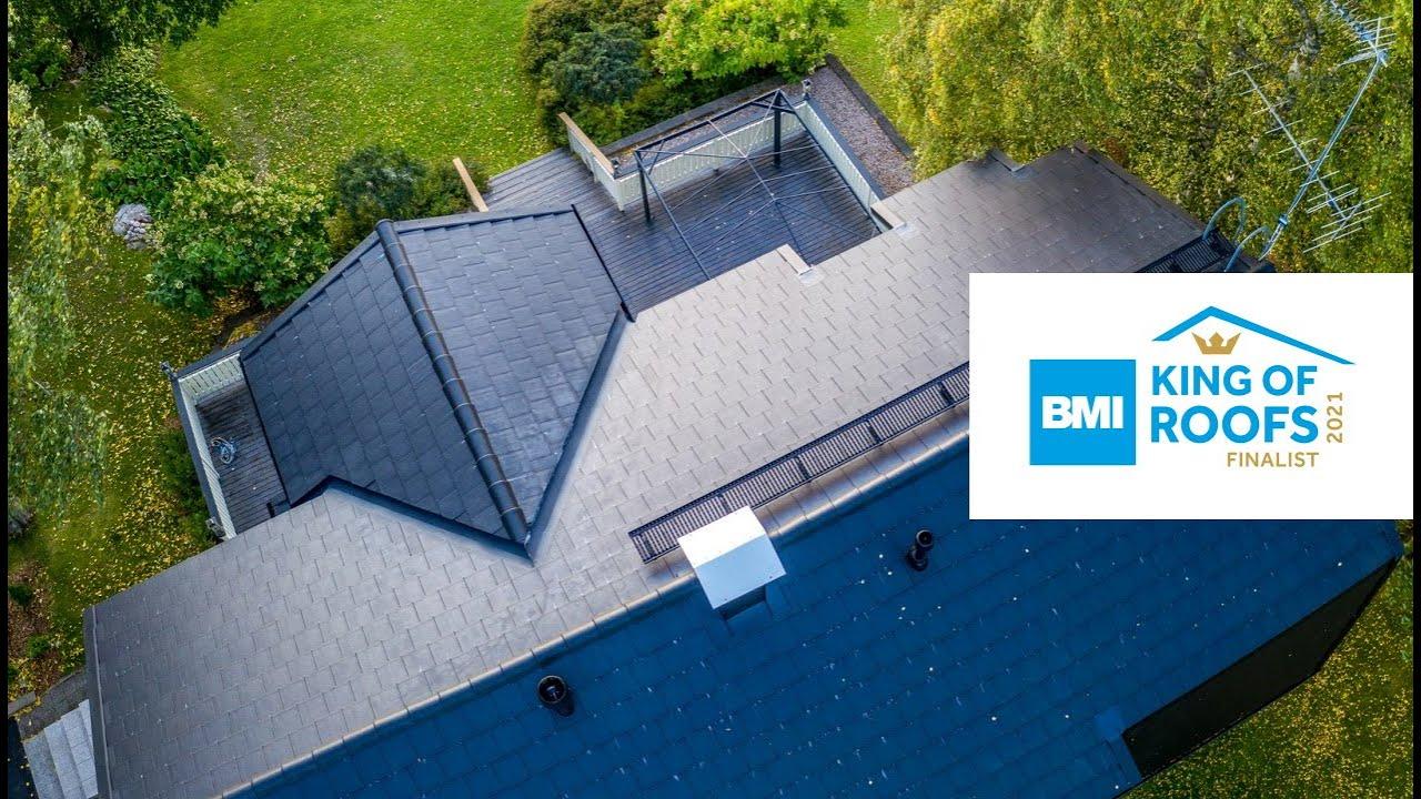 Mäkipellontie, Suomen Kattocenter Oy | King of Roofs -finalisti 2021