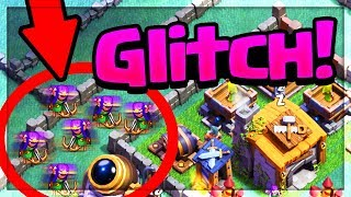 DOUBLE GLITCH ARCHER - Clash of Clans Builder Base Archers Funny Moments!