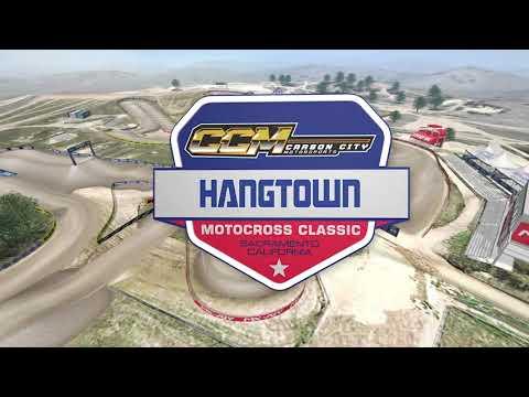 2021 Hangtown Motocross Classic - Animated Track Map