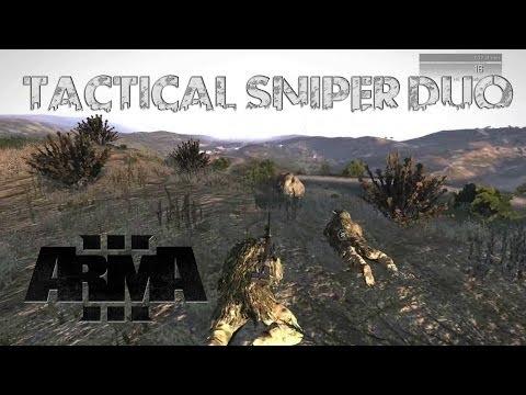 TACTICAL SNIPER DUO! - Arma 3 Gameplay