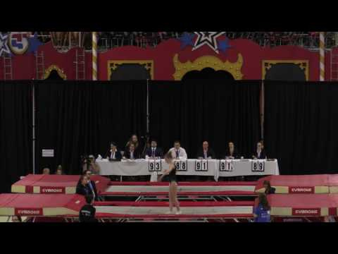 Jeux du Québec – 2017 02 26 – Trampoline  0