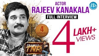 Rajiv Kanakala Exclusive Interview With TNR || Talking Movies with iDream # 36