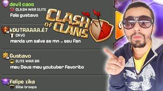 VOCÊ APARECEU NO MEU GLOBAL?? - CLASH OF CLANS