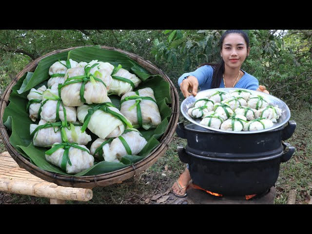 How to cook cabbage boiled with pork recipe - Cooking skill