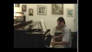 Mây bốn phương trời - Ngô Thụy Miên, piano by Dat Cao