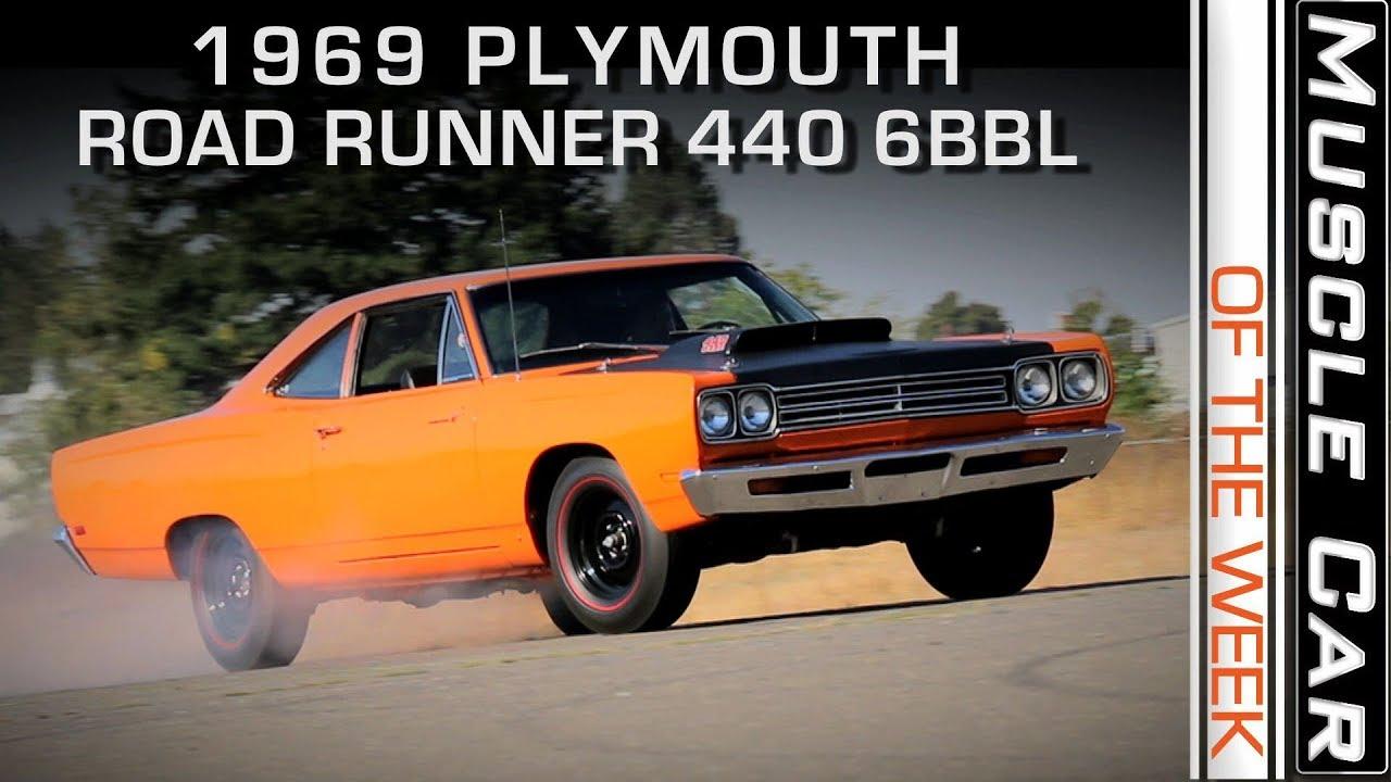 1969 1 2 Plymouth Road Runner A12 Six Barrel Muscle Car Of The Week 1960 Gtx Musclecar Musclecaroftheweek