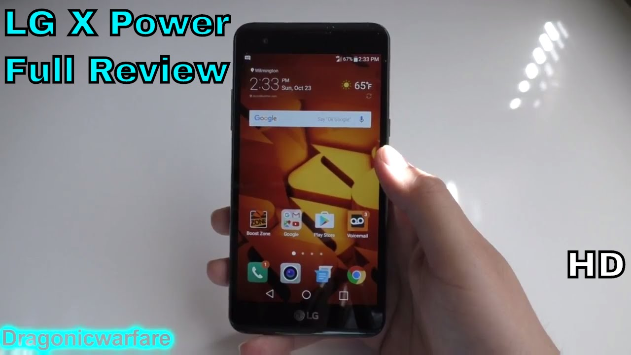 LG X Power Review (Boost Mobile) HD