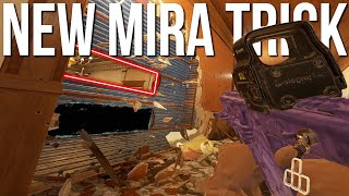 ANOTHER NEW Mira Trick + Amazing Hiding Spot! - Rainbow Six Siege Shifting Tides