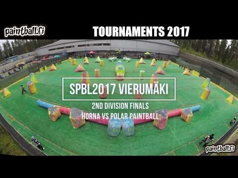 Horna vs Polar Paintball - Finals - SPBL2017 Vierumäki