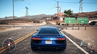 Need For Speed: Payback - Audi R8 V10 Plus - Open World Free Roam Gameplay (PC HD) [1080p60FPS]
