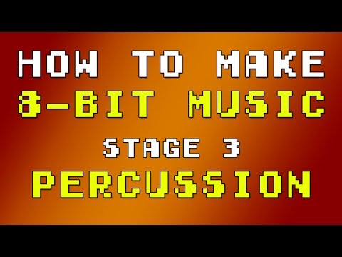 How To Make 8-bit Music - Stage 3 (Percussion)