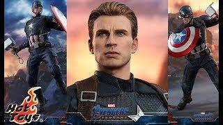 Hot Toys Reveals/Thoughts: Avengers Endgame Captain America Hammer, Broken Shield, & New Head Sculpt