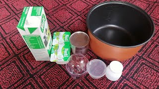 Cách làm sữa chua tại nhà đơn giản nhất | How to make yogurt