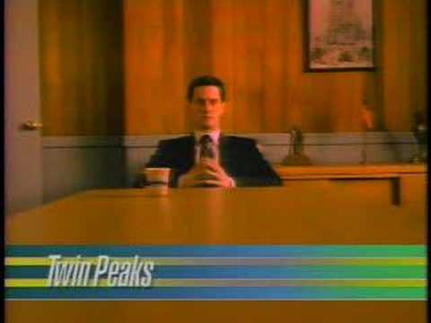TWIN PEAKS Rare Network Promos - Not On DVD!