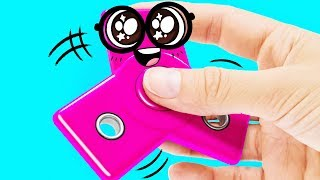 The Easiest Way to MAKE A FIDGET CUBE TOY by Slime Sam
