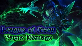 Gosu Montage - Best Vayne Plays - League of Gosu / Hi Im Gosu