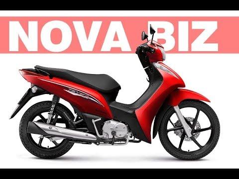 Nova Honda Biz 2018 2019 Ficha Técnica Preço