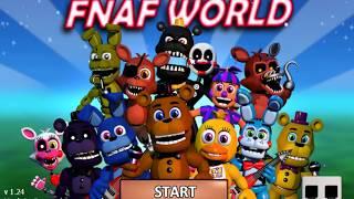 fnaf world gamejolt
