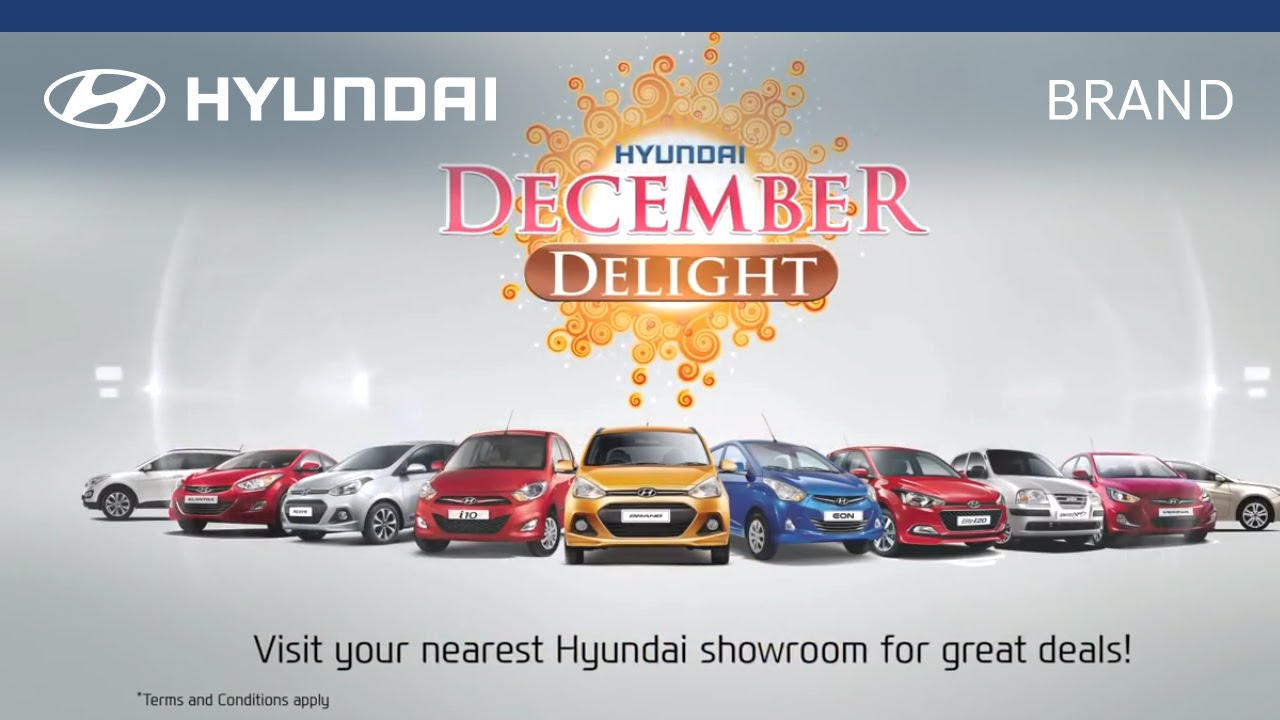 Hyundai | December Delight | Television Commercial (TVC) - YouTube