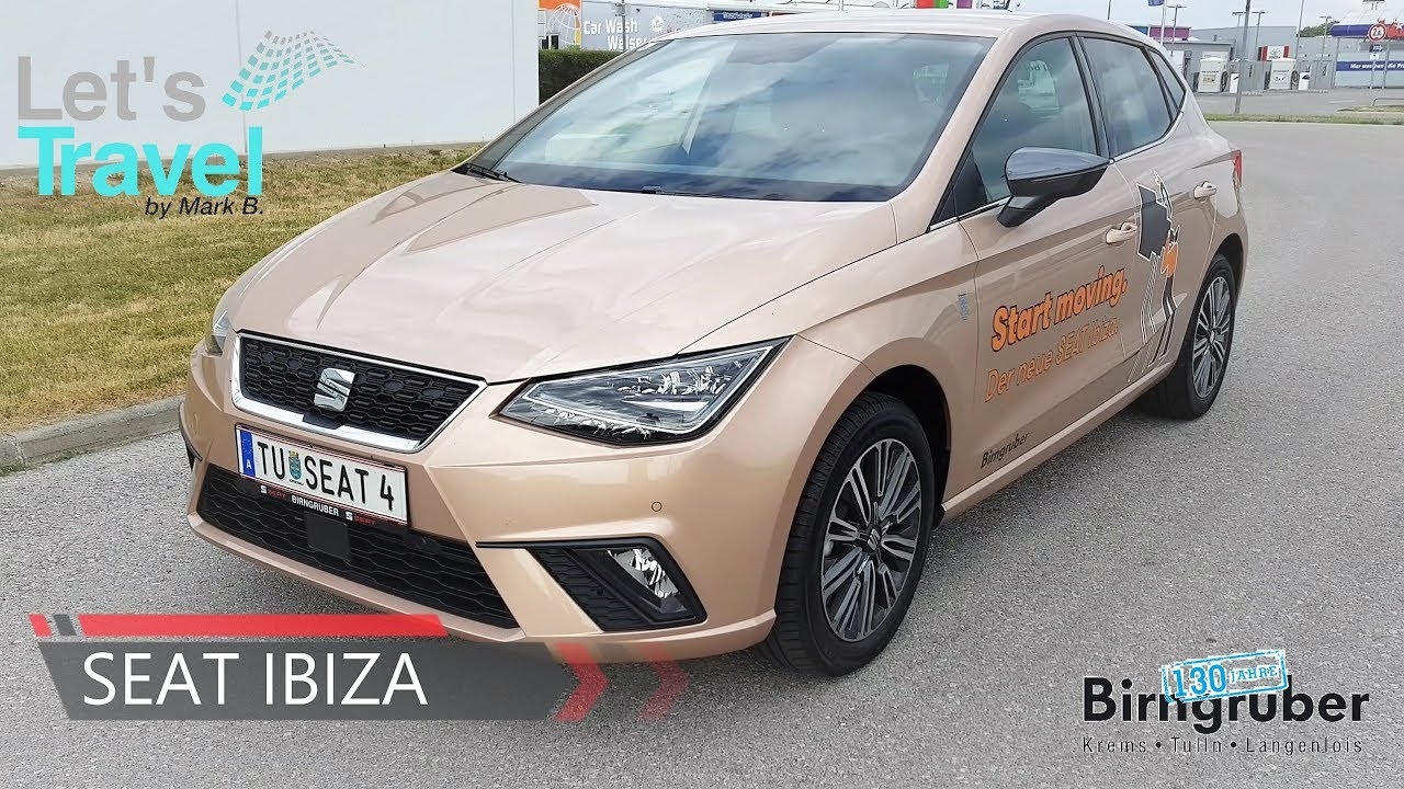 seat ibiza xcellence 2017 4k let 39 s travel youtube. Black Bedroom Furniture Sets. Home Design Ideas