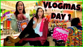 CLOSET ORGANIZATION + CARAMEL APPLES!!!! Vlogmas Day 1 Thumbnail
