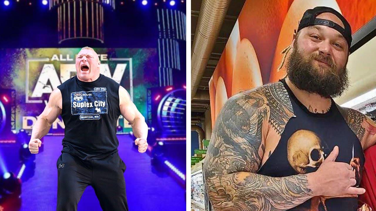 Brock Lesnar AEW...Bray Wyatt in Phenomenal Shape...CM Punk AEW Debut...WWE Firings...Wrestling News