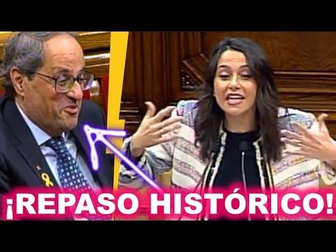 Menudo CARETO le queda a TORRA tras el 💥PALIZÓN💥 que le mete Inés ARRIMADAS por defender a OTEGI