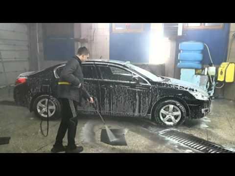 Как мыть машину на автомойке