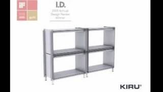 Kiru Regal Box Shelf System - Design Martin Borgs Berlin