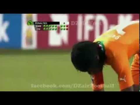 كأس إفريقيا ... ساحل العاج ضد زامبيا، ضربات الجزاء